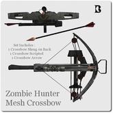 Blackburns Zombie Hunter Mesh Crossbow Set