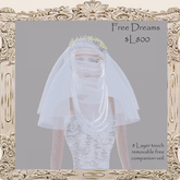 8 layer veil...Free Dreams