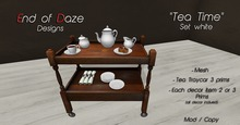 """EoD """"Tea Time"""" White"""