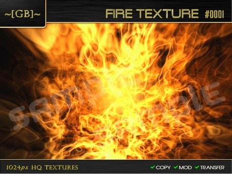 ~ [GB] Textures HQ ~ 00022 - Fire Texture #0001