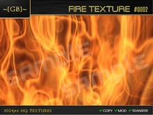 ~ [GB] Textures HQ ~ 00023 - Fire Texture #0002
