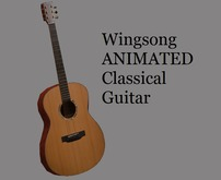 Wingsong Animated Classical Guitar Box