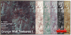 Slash Textures - Grunge Wall Textures - 6 Colors Seamless, Full perms