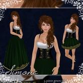 [K~*~S] Simone - Gown - Emerald