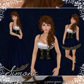 [K~*~S] Simone - Gown - Sapphire