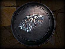 GoT inspired - Stark shield - metal version PROMO PRICE