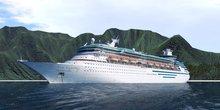 Cruise Ship Alpha - 1024 x 1024