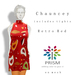 Prism Designs by Journey:  Chauncey in Retro Red