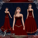 [K~*~S] Jenica - Gown - Cranberry