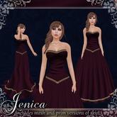 [K~*~S] Jenica - Gown - Wine