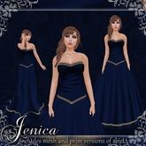 [K~*~S] Jenica - Gown - Marine