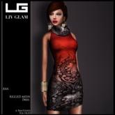 [LIV-Glam]WINTER-2012-Ann Turtleneck Dress HUD[WearMe]