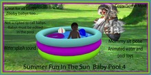 Summer fun In the sun Baby pool 4