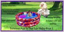 Summer fun In the sun Baby pool 3