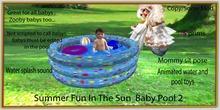 Summer fun In the sun Baby pool 2