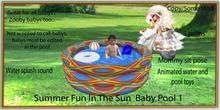 Summer fun In the sun Baby pool 1
