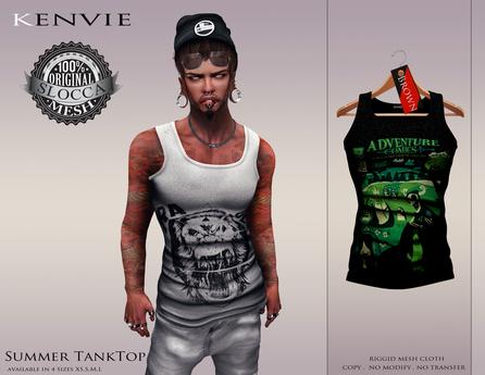 KENVIE . Summer TankTop Brown