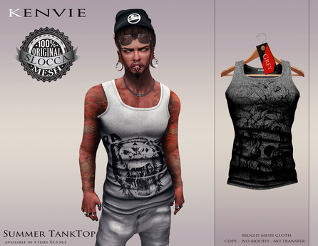 KENVIE . Summer TankTop Grey