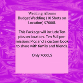 Wedding Albums Package 1