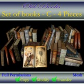 "Full Permissions - ""Old books"" Set Books - C -"