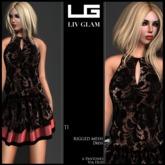 {LIV-Glam}.:Spring-2013:.TI Lace Colourblock Dress HUD