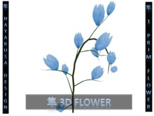 Revolutionary Mesh Flower, 1 Prim : 12 Flowers with pistil, twigs and trunk!