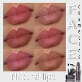 -FACE-Natural lips