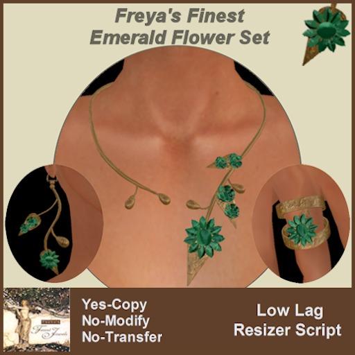 Freya's Finest Emerald Daisy Set