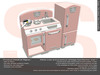 Sweet Baby - Kids Kitchen Vintage Mesh - Pink