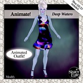 SF* Petites Animate! Party Outfit - Deep Waters