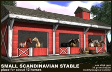 small scandinavian stable