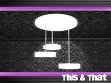 Modern & minimalistic chandelier