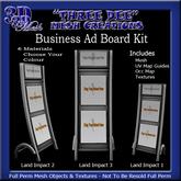 TD Business Ad Board Mesh Kit