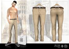 [IC] Mesh Nerd Classic Pants (Beige) Men