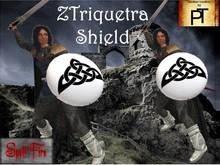 Shield Triquetra Animated SF box