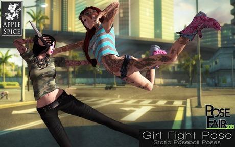 Apple Spice - Girl Fight Pose