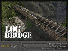 NEW+ Log Bridge from Studio Skye 100% MESH