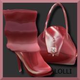 *Elsewhere* ~ LOLLIPOP ~ Slouch Boots & Purse