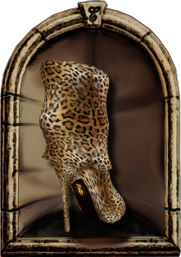 *Elsewhere* ~ FERAL ~ Slouch Boots & Purse