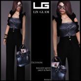 [LIV-Glam]*WINTER-2012*-Escusson Outfit -Azul [WearMe]