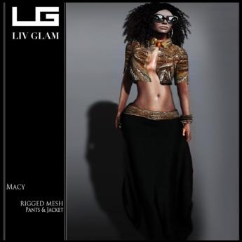 PROMO [LIV-Glam] Fall 2012-Macy Oufit-{Mesh}-[WearMe]