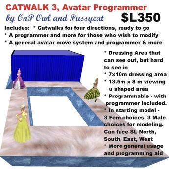 OnP Catwalk 3, Avatar Programming