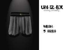 Mesh Balloon Shorts PINK Plain
