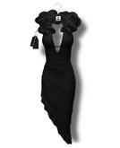 Chrysalis - Sharona mesh gown - black