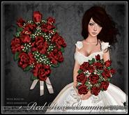[Wishbox] Premier Rose Bouquet (Red Roses) - Valentine's Day gift, romantic present, sculpted Baker's dozen