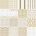 ttt  gold   white fabric contact sheet