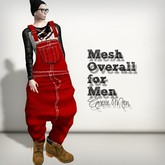 AMERIE M - Mesh Overall(Red)