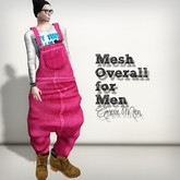 AMERIE M - Mesh Overall(Pink)
