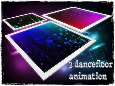 3 DanceFloor Abstract Animation