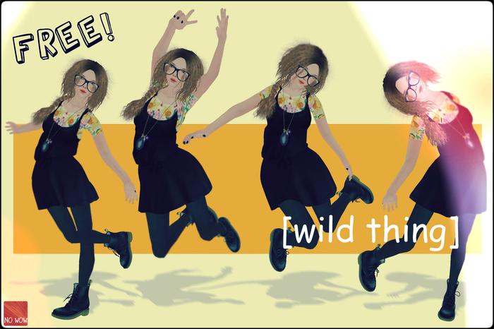 -no wow- [wild thing] promo